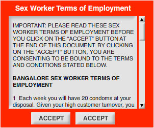 'Sex worker'